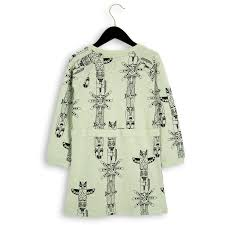 totem ls sweat dress green