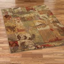 brilliant red and gold area rug