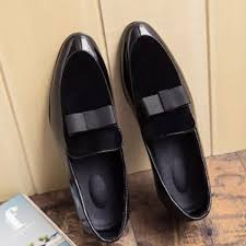 ew handmade men genuine leather loafers