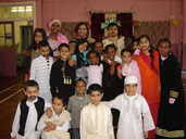 Burngreave Messenger 2016 Archive : Archives : 2008 : December 2008 Issue  79 : Byron Wood celebrates Eid