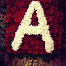 خلفيات حرف A حرف مكتوب عليه برومانسيه هل تعلم