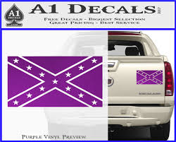 Confederate Flag Decal Sticker Do A1 Decals