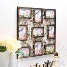bronze fl vine collage photo frames