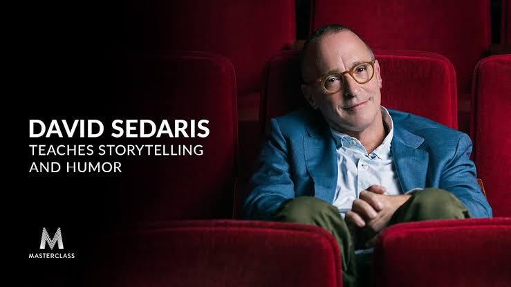 David Sedaris Teaches Storytelling