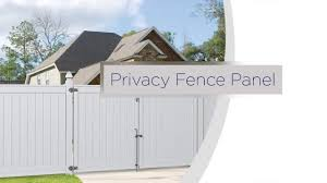 Freedom Privacy Fence Panel Youtube