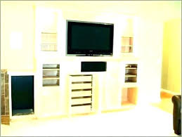 mirror cabinet tv cover