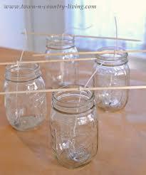 how to make mason jar candles town