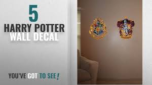 Top 10 Harry Potter Wall Decal 2018 Roommates Rmk1551gm Harry Potter Crest Peel And Stick Giant Youtube