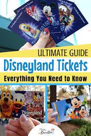 ed disneyland tickets
