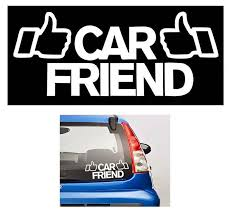 Car Friend Funny Jdm Vinyl Decal Stickers Sticker Flare Llc