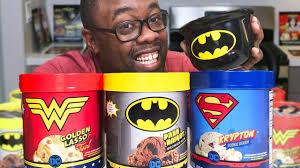 dc super hero ice cream taste test