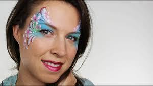 flower fairy face painting ashlea