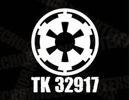 Personalized Tk Id Decal Ver2 501st Imperial Stormtroopers Etsy