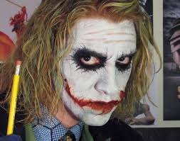 joker dark knight makeup tutorial
