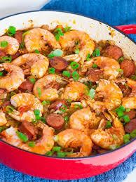 Shrimp and Sausage Jambalaya (video ...