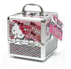 o kitty train cosmetics case for