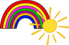 Słońce Tęcza Dla Dzieci - Darmowy obraz na Pixabay