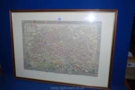 Lot-Art | A MAP OF BIRMINGHAM BY BERNARD SLEIGH AND IVY ANNE ELLIS  PUBLISHED STUDIO PRESS