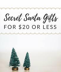 secret santa gift ideas for under 20