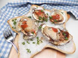 Air Fryer Oysters on the Half Shell ...