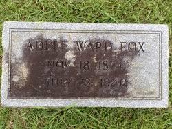 Adele Ward Fox (1874-1940) - Find A Grave Memorial