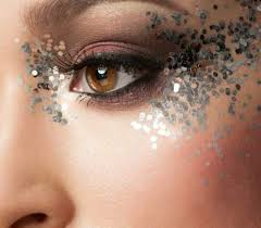 glitter eye makeup this valentines day