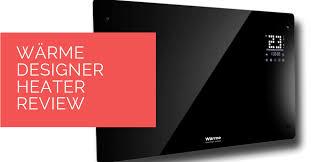 wärme designer panel heater review