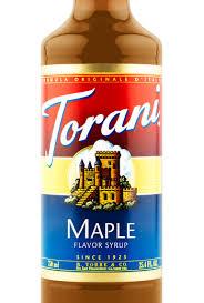 maple flavor syrup torani