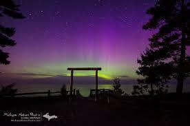northern lights marquette michigan