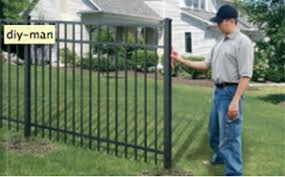Diy Install Aluminum Or Vinyl Fence Yourself Builders Fence Company
