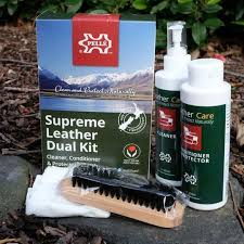 leather dual kit cleaner cleaning