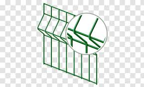 Fence Welded Wire Mesh Chain Link Fencing Guard Rail Transparent Png