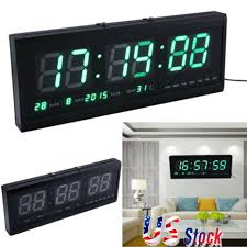 table desk night wall clock alarm watch