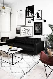 16 black couch living room ideas