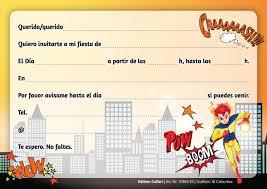 Articulos De Fiesta Invitaciones 10963 Es Edition Colibri 10