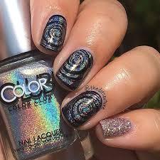 mirror and metallic nail art ideas