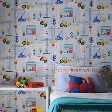 Transport And Vehicles Themed Wallpaper Borders Bedroom Feature Wall Decor Ebay Kids Room Wallpaper Construction Wallpaper Kids Wallpaper