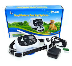 Wireless Dog Fence Containment System 500m Radius Remote Control Electric Waterproof Training Collar Training Collars Aliexpress