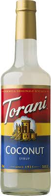 torani coconut syrup free 1 3 day