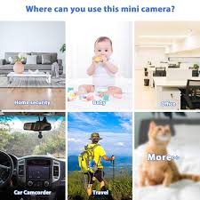 Mini Spy Camera Wifi Relohas Hd 1080p Spy Camera Wireless Hidden Live Streaming Upgraded Night Vision Motion Activated Spy Cam Nanny Cam Security Camera For Home And Outdoor With Cell Walmart Com