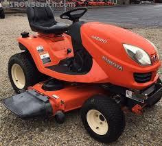 2006 kubota gr2100 garden tractor for