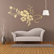 Diy 3d Floar Art Retro Mirror Flower Wall Sticker Removable Decoration Vinyl Acrylic Mural Decal Living Home Dining Room Bedroom Kitchen Sofa Decor 2 Color Silver Golden Walmart Com Walmart Com