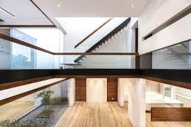 a sleek modern home with indian