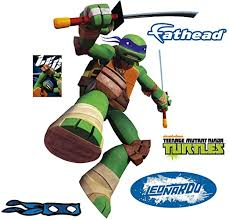 Amazon Com Fathead Leonardo Large Officially Licensed Nickelodeon Removable Wall Decal Home Kitchen