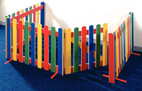 Picket Fence And Gate Dividers Screens Room Dividers Children S Furniture But All White Kids Gate Church Nursery Rainbow Room