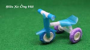 Làm Siêu xe đồ chơi bằng Ống Hút - Xe đạp ống hút (Có hình ảnh ...
