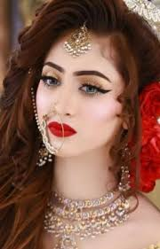 trendy indian bridal makeup images and