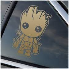 Guardians Of The Galaxy Groot Vinyl Decal Sticker Car Window