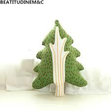 Forest Animal Tree House Kids Room Decorative Plush Toys Sofa House Pillow Cushion Home Decor Kid Gift Mall