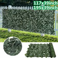 Artificial Hedge Fence Panels Topiary Hedge Boxwood Plant Privacy Screen Outdoor Indoor Use Garden Fence Wish
